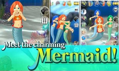 Talking Mermaid Princess NoAds v1.24.0 Apk for android